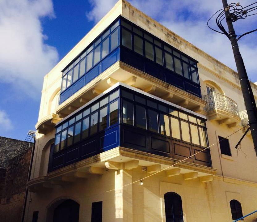 2 Maltese Aluminium Balcony apertures 2