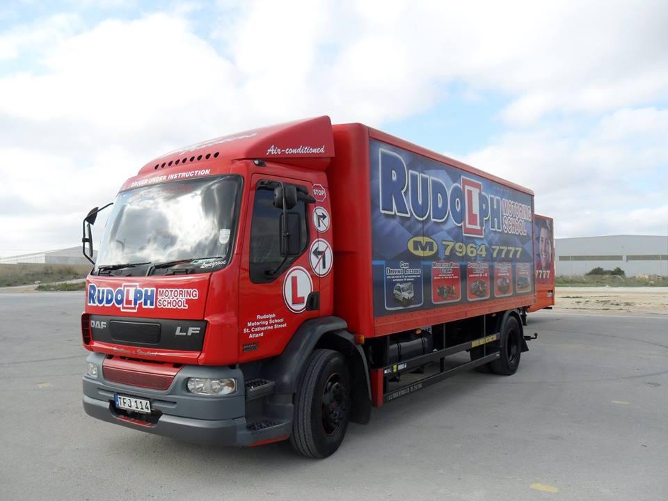 3 truck rudolph