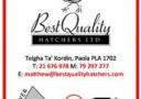 Best Quality hatchers Malta